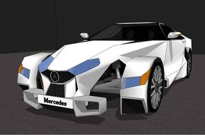 Voiture perso Mercedes 18M100-02