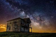 Beautiful space galaxy