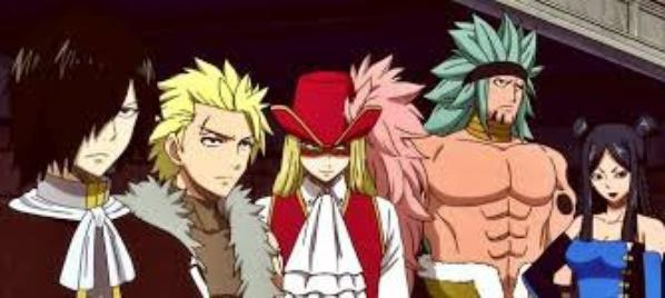 Sabertooth and Fairytail de ROSE