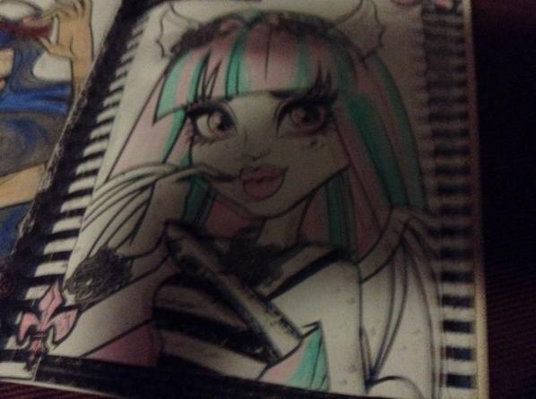 Mes dessins monster high