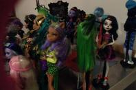 Autres photos de mes poupées et de ma collection monster high