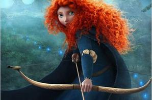 Dessin Merida de rebelle(film disney pixar)