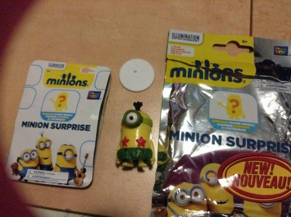 Minion surprise