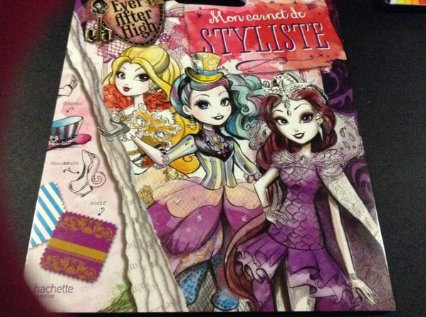 Carnet de styliste ever after high