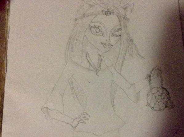 Encore des dessins monster high :P