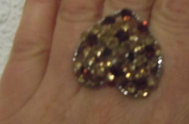 Bagues  Coeur et type marquise réglables 6  ¤ Bague fleur demande les tailles du 17 au 21
