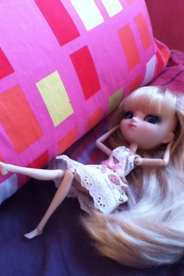Séance photo n°4 : Un lit bien moelleux !