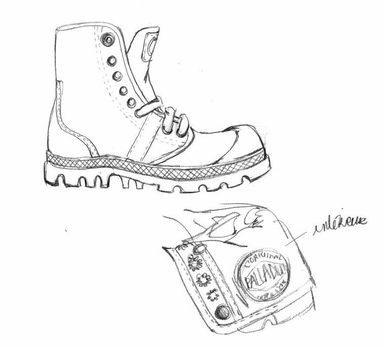 salut je me suis entraînée à dessiner des chaussures pour un cours comme ça pour le fun c'était pas demandé mais laissez moi dessssinnneeeerrrr bordel