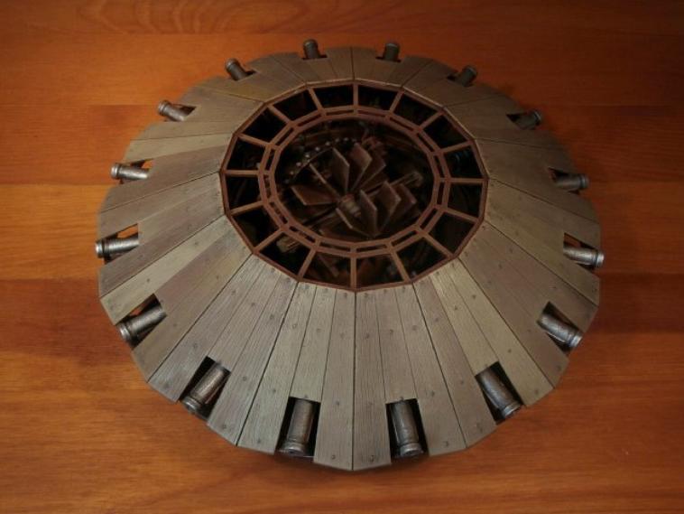 Leonardo da Vinci - Bombarde multiple