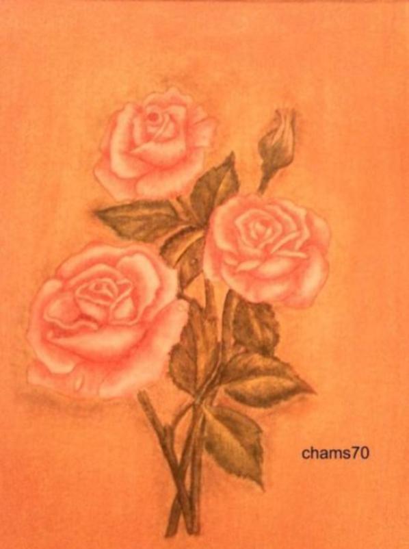 mes peinture Pastel Sec