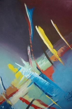 Mes Peinture Abstrait