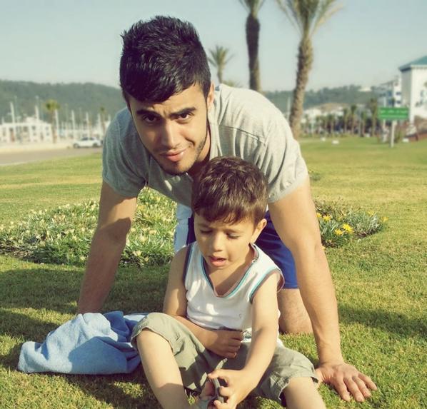 moi avec adam