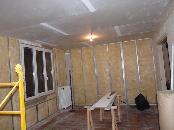Création Salle De Bain /Wc / Chambre Avec Isolation Phonique
