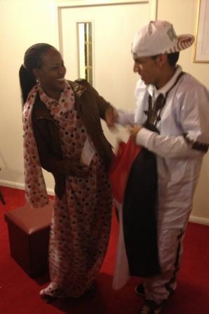 Aziza Brahim Famous Singer of Western Sahara and Me