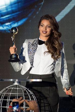 Tal au Worlds Music Awards 2014