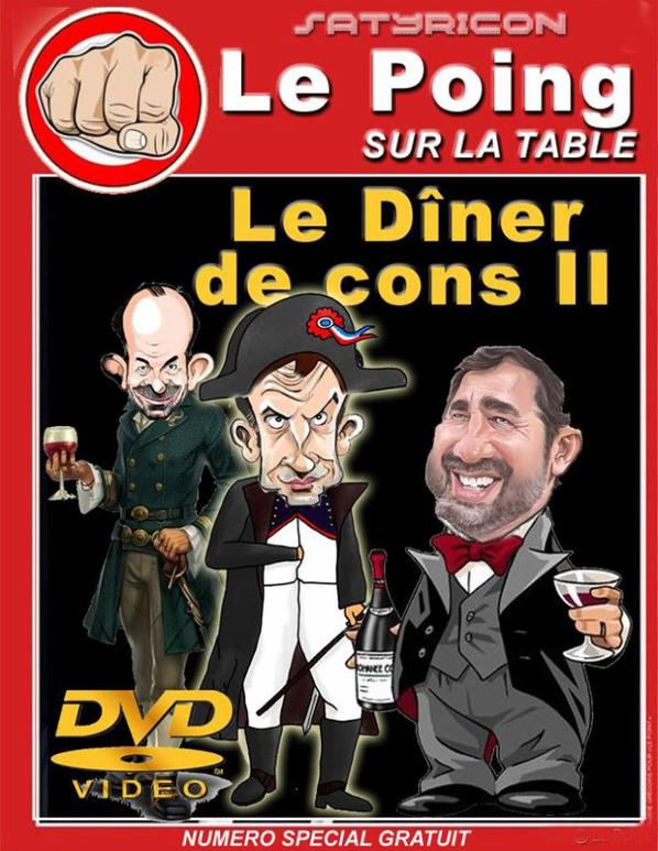Le poing sur la table !