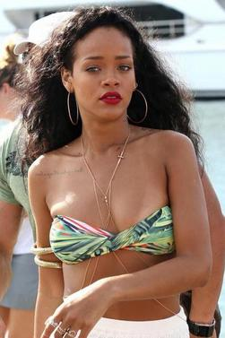 Autres photos des vacances de Rihanna