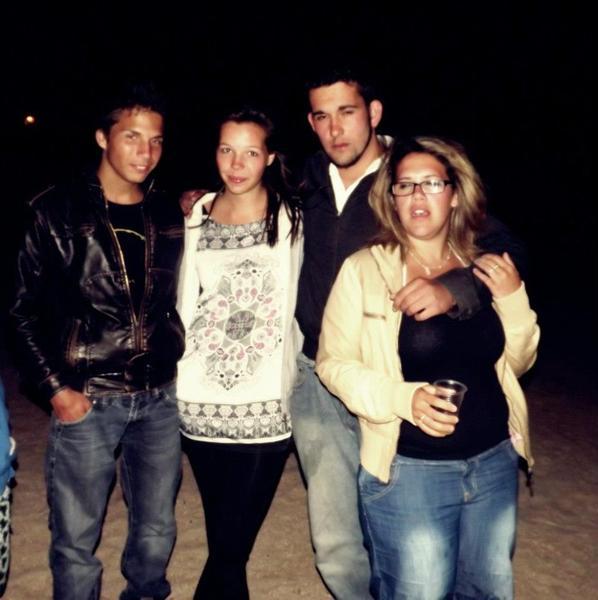 soirée sur la plage =)
