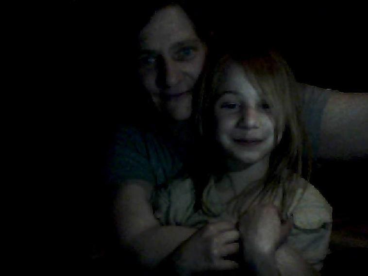 moi et ma petite fille lea