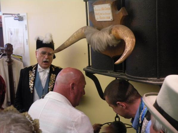 Réception des reines à la mairie du Bouffay