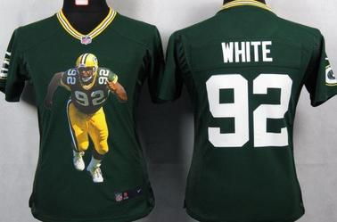 Mitchell & Ness Packers #92 Reggie White  classic jerseys
