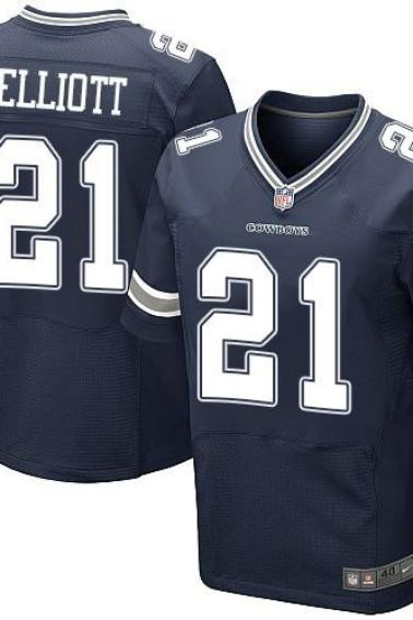 2016 new draft Pick Dallas Cowboys #21 Ezekiel Elliott Men's Game cheap jerseys from china