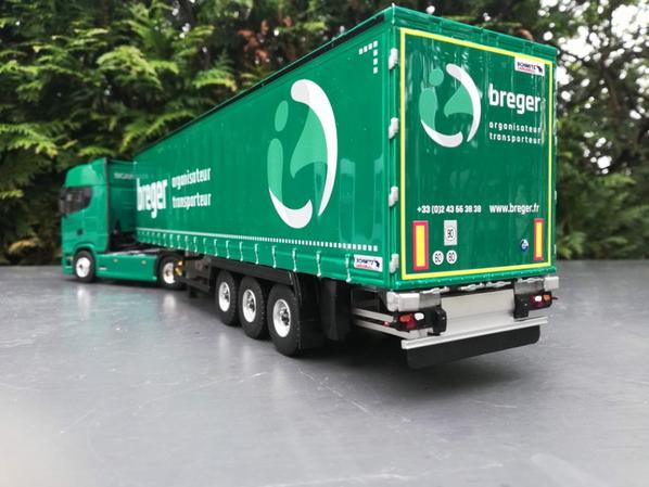 SCANIA TRANSPORTS  BREGER