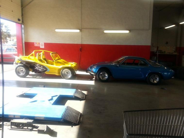 Buggy Crouzet et Alpine A110