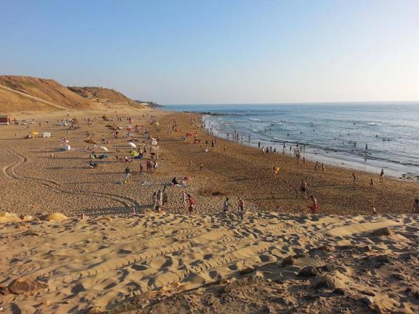la plage ....