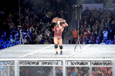 RYBACK VS CM punk at hell in a cell