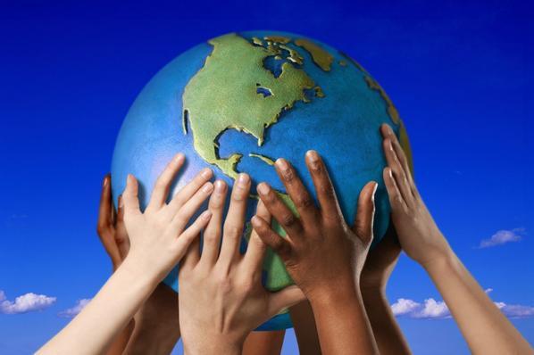 Célébrons Le Jour De La Terre!