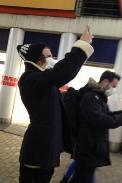 Harry, Louis, Liam Japon