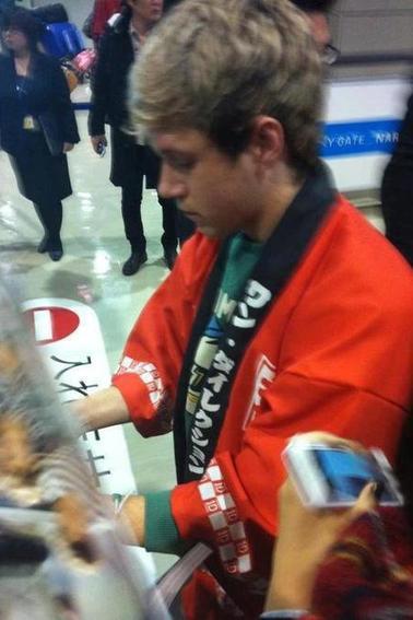 Niall et Zayn Japon