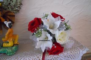 mes creations   pour le  mariage  sophie et    jeson juilliet  2013