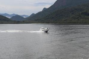 Traversée Caiobá la côte Guaratuba du Paraná-Brésil