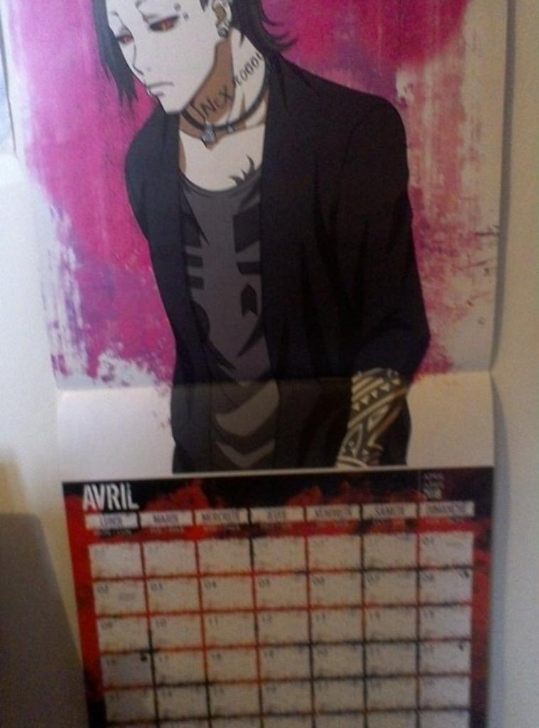 Autres images + calendrier Tokyo Ghoul