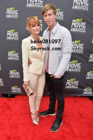 Bella hier soir au MTV movie Awards