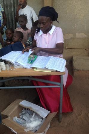 Village de Saré Téning en Casamance région de Sédhiou
