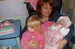avec ma soeur et nona