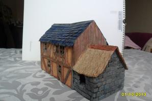 maison médiéval (suite peinture)