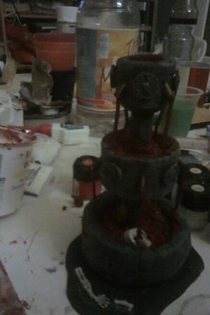 fontaine de sangs