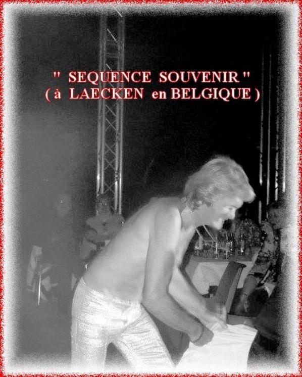 """21h./  L'heure de préparation dans la loge .....23h./ Un """" Au-revoir """" à mon public !...."""