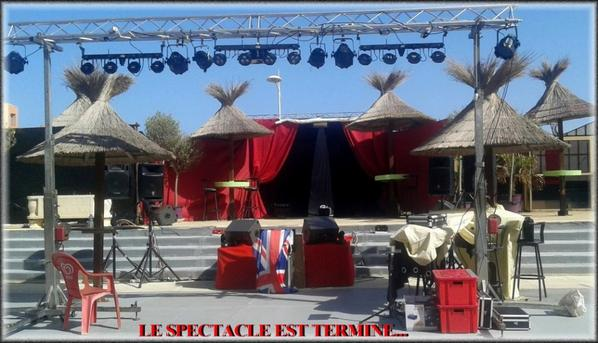 MAGNIFIQUE  WEEK-END  A  VALRAS - PLAGE  ...DEUX  SOIREES  SPECIALES  SOSIES  !.....