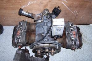 moteur et boite apres nettoyage