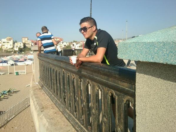 thé au bord de la mer