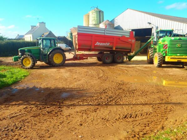 Mais grain 2012 chez mon voisin