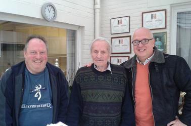Visite chez un très grand champion AELBRECHT MARCEL de Lebbeke