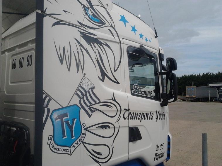 Nouveau Scania R440 Des Transport Yvoir !