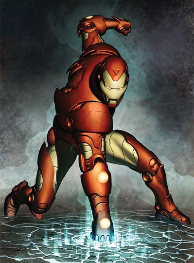 IRON MAN , ( HERO )