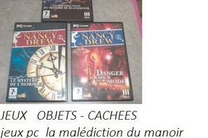 JEUX PC SUITE / OBJETS-CACHES